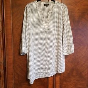The Limited Asymmetrical tunic blouse